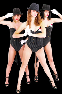 Burlesque Show mit Showtanzgruppe Provocation