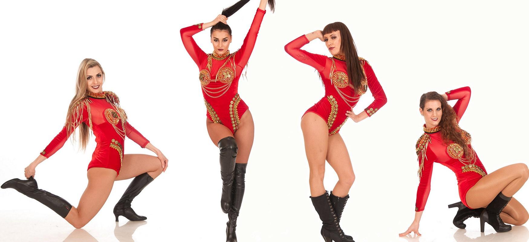 Tänzerinnen von Provocation