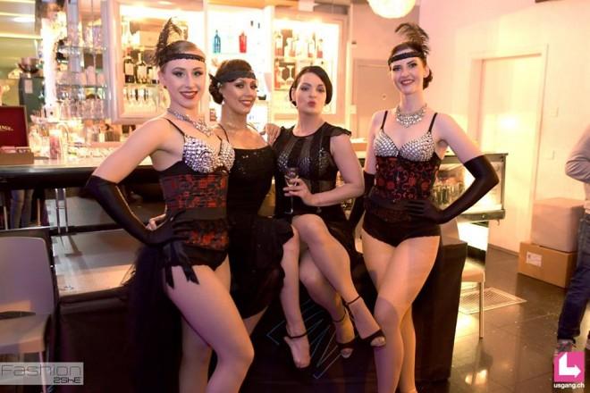Provocation Burlesque Show für Amaro Montenegro